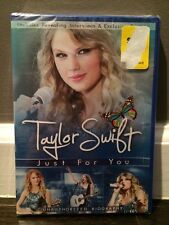 New Sealed Taylor Swift: Just for You (DVD, 2011) Unauthorized Biography