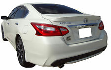 PAINTED SPOILER FOR A NISSAN ALTIMA 4-DOOR FACTORY STYLE FLUSH MOUNT 2016-2017