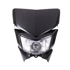 Black  Motorcycle Headlight Fairing Kit For Kawasaki KLX 450R KLR 250 650