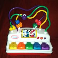 Little Tikes Melody Beads Piano Bead Mover Lights Up 2 Modes of Play Therapy