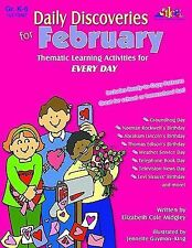 Daily Discoveries for February: Thematic Learning Activities for Every-ExLibrary