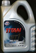 4 Liter Fuchs Titan GT1 Pro Flex 5W-30 Motoröl 5W30 Opel dexos2 MB 229.51 BMW
