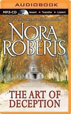 The Art of Deception by Nora Roberts (2014, MP3 CD, Unabridged)