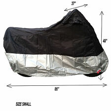 MOTO MOTORCYCLE SCOOTER DISCOUNT WATERPROOF BIKE COVER SIZE SMALL