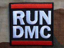 ECUSSON PATCH toppa aufnaher THERMOCOLLANT RUN DMC groupe musique / 7.5x7.5 cm