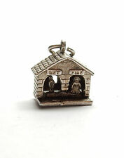 Vintage 925 Sterling Silver NUVO WET WEATHER HOUSE VANE Charm Pendant 4g