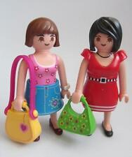 Playmobil Dollshouse/shop figures: Ladies with handbags & changeable clothes NEW