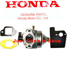 HONDA HRX217 HRX2172HMA HRX2172HXA Lawn Mower CARBURETOR & GASKETS KIT SET NEW