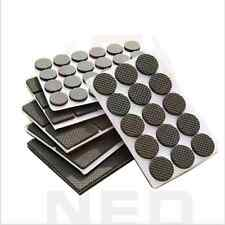 soft 1-24PCS Self Adhesive Furniture Leg Non Slip Rug Felt Pads Anti Slip Mat