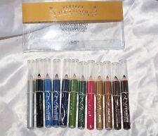 Matita occhi 12 colori piccole contorno eyliner WATERPROOF set trucco make-up