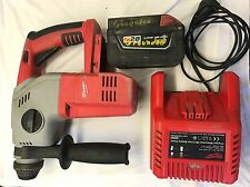 Milwaukee 28v Hammer Drill/ Jack Hammer. Battery And Charger Included