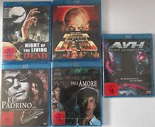 Horror Paket FSK 18 - Night & Dawn of the Dead, Cemetery Man, El Padrino, Alien