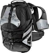 ICON SQUAD2 BACKPACK MOTORCYCLE LAPTOP-POUCH HELMET-CARRIER TOOL-STORAGE BLACK