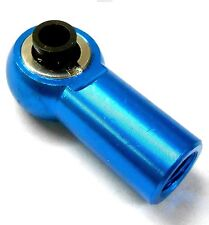 L11485 M8 8mm Connector RC Alloy Track Rod End Right Thread Light Blue Metric 1