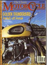 The Classic M/C, Jun 2001 – Duncan, Guzzi Super Alce, Bantam Major, Benelli Sei…