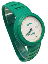 HIP HOP OROLOGIO UOMO DONNA VERDE VINTAGE NUOVO WATCH MAN WOMAN GREEN