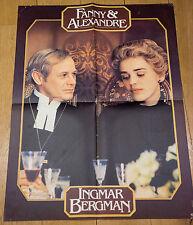 Affiche de cinéma : FANNY ET ALEXANDRE de INGMAR BERGMAN --