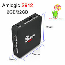 BM8 Pro Tv Box Amlogic S912 Octa core 2/32G Dual Wifi BT 4k for Android6.0
