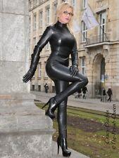 Lederhose Leder Hose Schwarz Hauteng Leggings US 18 XL 48