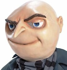 Gru Mask Minions Despicable Me Villain Minion Adult Costume Mask - Fast Ship -
