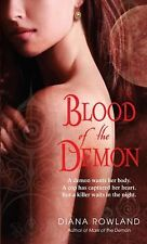 Blood of the Demon by Diana Rowland (2010, Paperback)