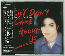 MICHAEL JACKSON They Don't Care About Us CD JAPAN ESCA-6387 Brand NEW '96 s4573