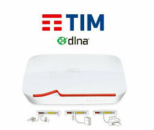MODEM ROUTER WIFI TIM TELECOM ADSL FIBRA OTTICA DLNA WIRELESS SUPER INTERNET USB