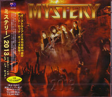 MYSTERY 2013 +2 JAPAN CD + Video Clip AC/DC Rose Tattoo Dungeon Empires of Eden
