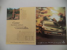 advertising Pubblicità 1996 RENAULT LAGUNA GSC