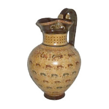 Oinochoe from Rhodes Ancient Greek Museum Replica Reproduction