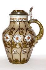 Antiguo Estilo moderno Villeroy & Boch Mettlach Jarra Vino V+B 98 Art Nouveau VB