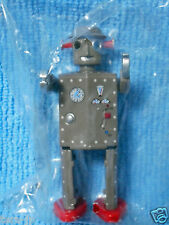 Tin Age Collection Tin Toy Robot - Atomic Robot Man - Die-cast BRiKeys Japan