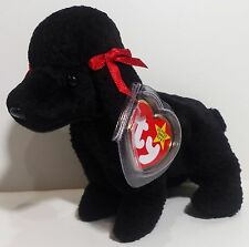 "TY Beanie Babies ""GIGI"" Black Poodle DOG - MWMTs! RETIRED! CHECK OUT MY BEANIES!"