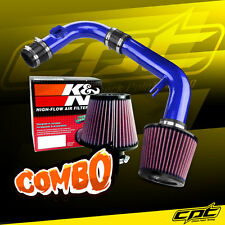 11-15 Chevy Cruze Non-Turbo 1.8L 4cyl Blue Cold Air Intake + K&N Air Filter