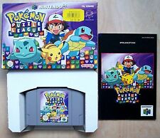 Pokemon Puzzle League (Nintendo 64, N 64) komplett