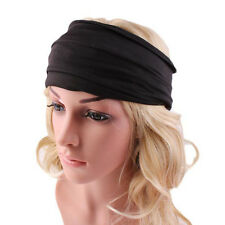 Fashion Women Wide Headband Yoga Headwrap Nonslip Boho Running Hair Accessories