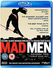 Mad Men - Series 2 - Complete (Blu-ray, 2009, 3-Disc Set)