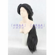 New Aladdin MAGI Princess Jasmine Disney Arabian Nights Black Fluffy Cosplay Wig