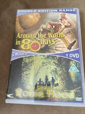 DVD The Legend Of Robin Hood & Around The World In 80 Days Double Edition ExCond