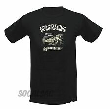 LARGE MOON DRAG RACING SHIRT RAT HOT ROD FORD CUSTOM GASSER RACE OLD SCHOOL