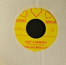 HEAR IT OBSCURE COUNTRY Russ Tom Holmes And Co Heart Break 45 Just A Memory