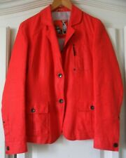 Frieda & Freddies New York Red Coral Jacket Blazer UK12