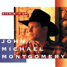 JOHN MICHAEL MONTGOMERY - Kickin' It Up (CD 1994) USA Import EXC