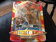 Doctor Who Brown Krillitane Action Figure Brand New In Packaging . 2004 BBC