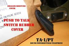 Moisture Rubber Protective Cover for Push to Talk Switch TA-1/PT