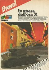 X9794 In attesa dell'ora X_Dibo Building PANTOYS - Pubblicità 1975 - Advertising