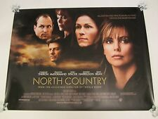 North Country movie poster - Charlize Theron - original uk quad poster
