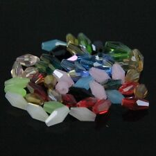 120pcs Swarovski  4x8mm Long Bicone Crystal beads A Multi-colored