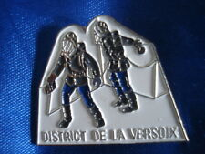 PINS POMPIERS 1989 CREATION DISTRICT DE LA VERSOIX DIVONNE LES BAINS FIREFIGHTER