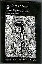 Three Short Novels from PAPUA NEW GUINEA ~ 1976 Hardcover